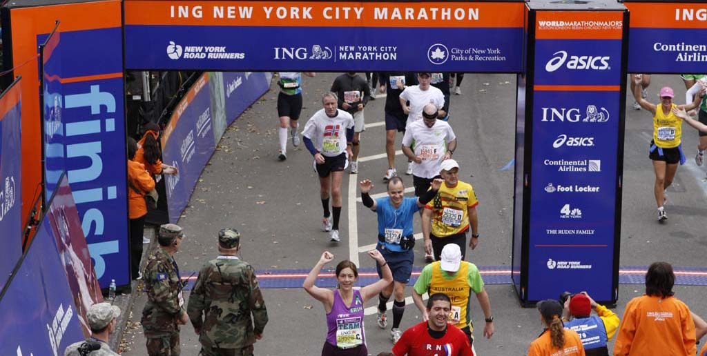 Me at the finish